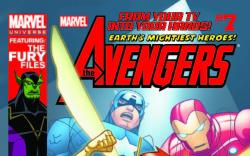 MARVEL UNIVERSE AVENGERS EARTH'S MIGHTIEST HEROES 7