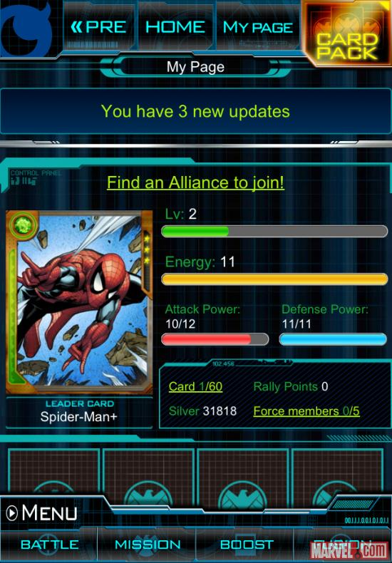 Images From Download Marvel: War of Heroes on iOS & Android