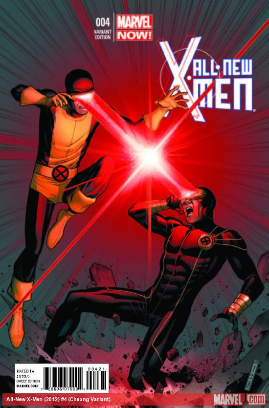 ALL-NEW X-MEN 4 CHEUNG VARIANT (NOW, 1 FOR 50, WITH DIGITAL CODE)