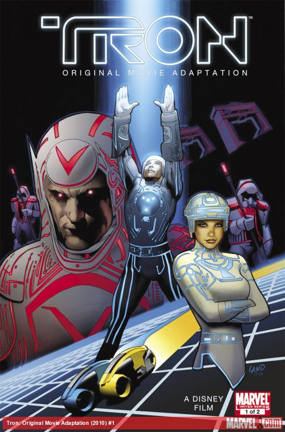 Tron: Original Movie Adaptation (2010) #1 Cover