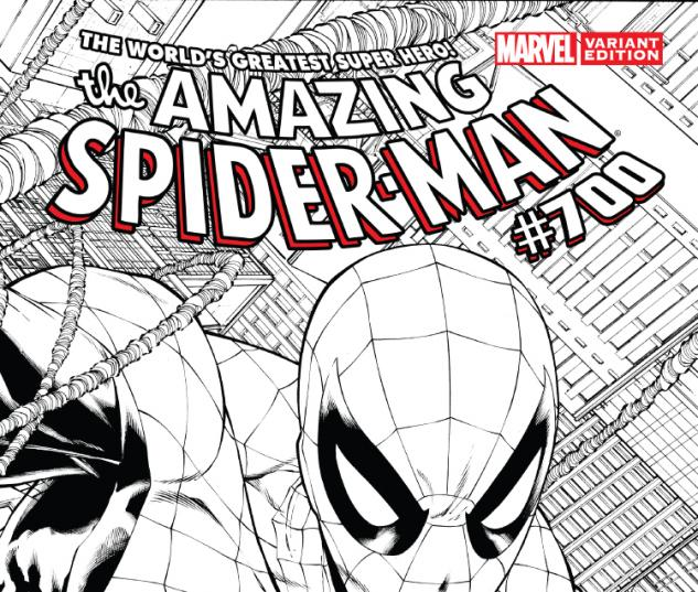 cover from The Amazing Spider-Man (1999) #700 (QUESADA SKETCH VARIANT)