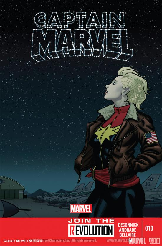 Captain Marvel (2012) #10 Cover