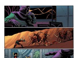 Uncanny Avengers #8AU preview art by Adam Kubert