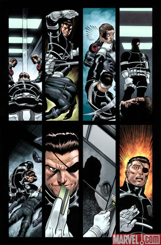 DARK REIGN: THE LIST - SECRET WARRIORS preview art by Ed McGuinness