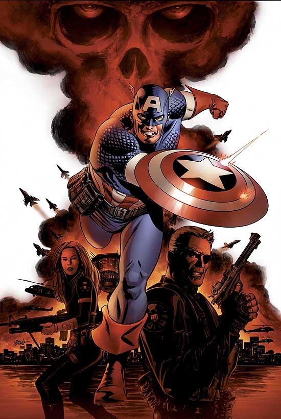 CAPTAIN AMERICA (1999) #1 COVER