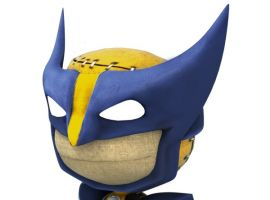 Wolverine costume in LittleBigPlanet