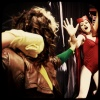FanExpo 2011: Rogue and Scarlet Witch Cosplayers Battle