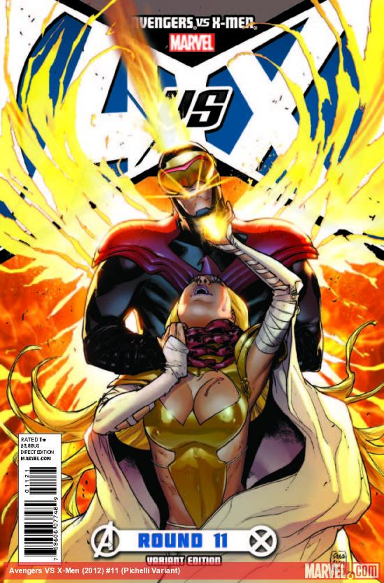 AVENGERS VS. X-MEN 11 PICHELLI VARIANT (1 FOR 100, WITH DIGITAL CODE)
