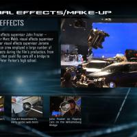 Special effects featured in The Amazing Spider-Man Second Screen App