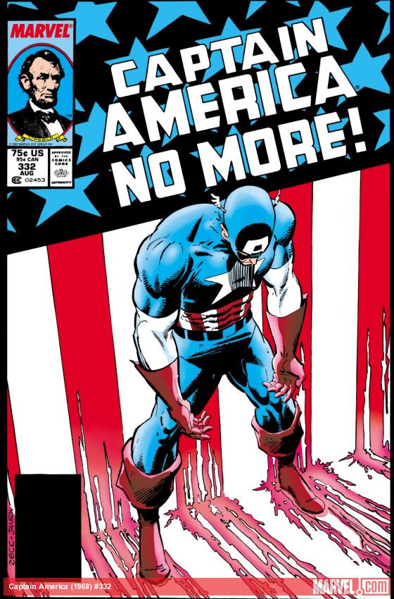 Captain America (1968) #332 Cover