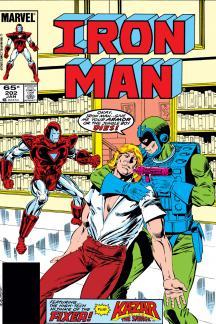 Iron Man #202