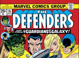 Defenders (1972) #26 Cover