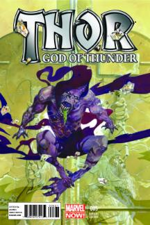 Thor: God of Thunder (2012) #5 (Guera Variant)
