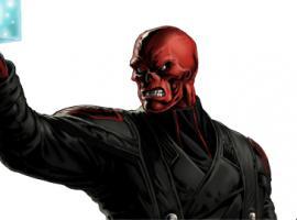 Red Skull character model from Marvel: Avengers Alliance
