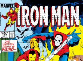 Iron Man (1968) #188 Cover