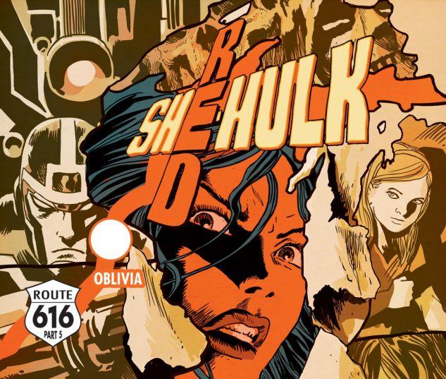 Red She-Hulk (2012) #67 Cover
