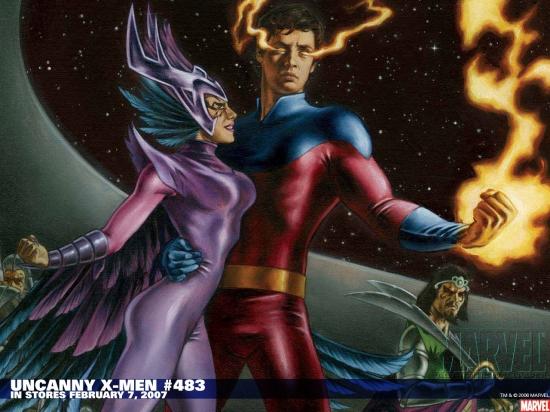 Uncanny X-Men (1963) #483 Wallpaper