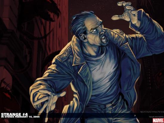 Strange (2004) #4 Wallpaper