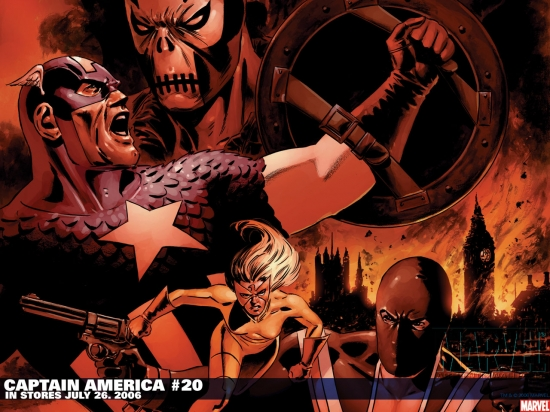 Captain America (1998) #20 Wallpaper