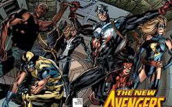 New Avengers Finale (2010) #1 (BATTLE READY 2ND PRINTING VARIANT)