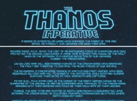 THE THANOS IMPERATIVE #2 recap page