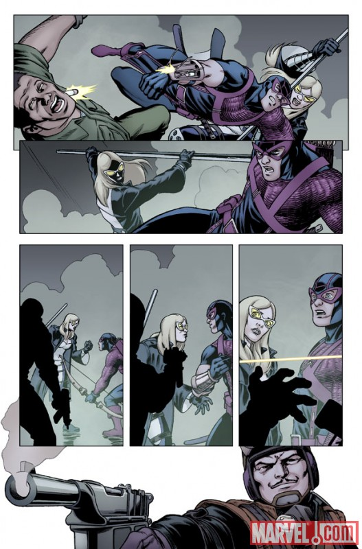 HAWKEYE &amp; MOCKINGBIRD #3 preview art by David Lopez 4