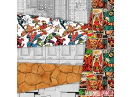 Materials included in the Marvel Level Kit in LittleBigPlanet