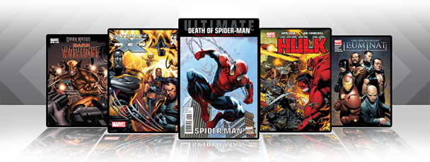 Marvel iPad/iPod App: Latest Titles 3/23/11