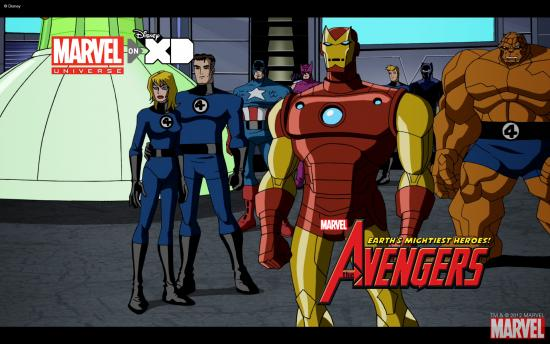 The Avengers: Earth's Mightiest Heroes! Wallpaper #2