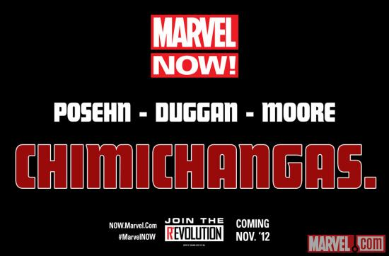 The Future of Marvel NOW! is...Chimichangas?