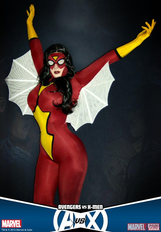 Bellechere as Spider-Woman
