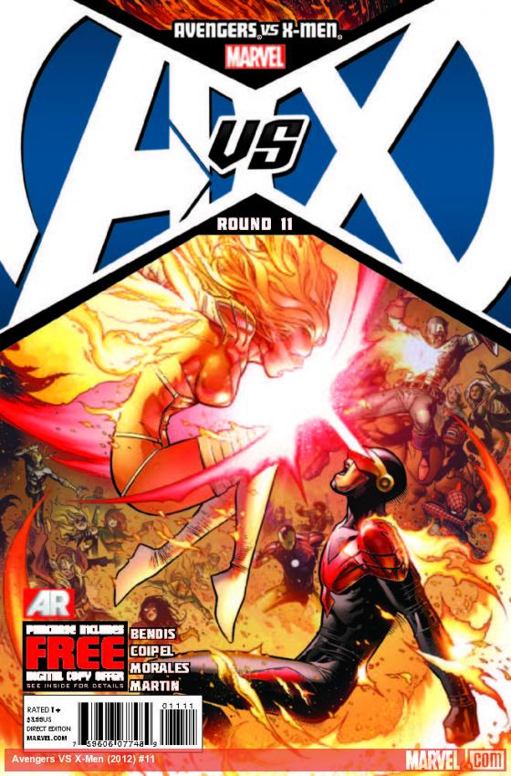 AVENGERS VS. X-MEN 11 (WITH DIGITAL CODE)