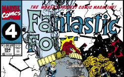 Fantastic Four (1961) #354 Cover