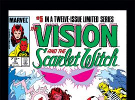 Vision and the Scarlet Witch (1985) #5 Cover