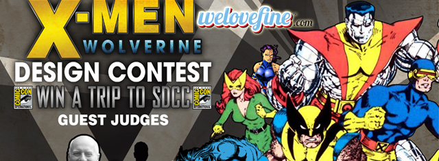 WeLoveFine's X-Men and Wolverine Contest