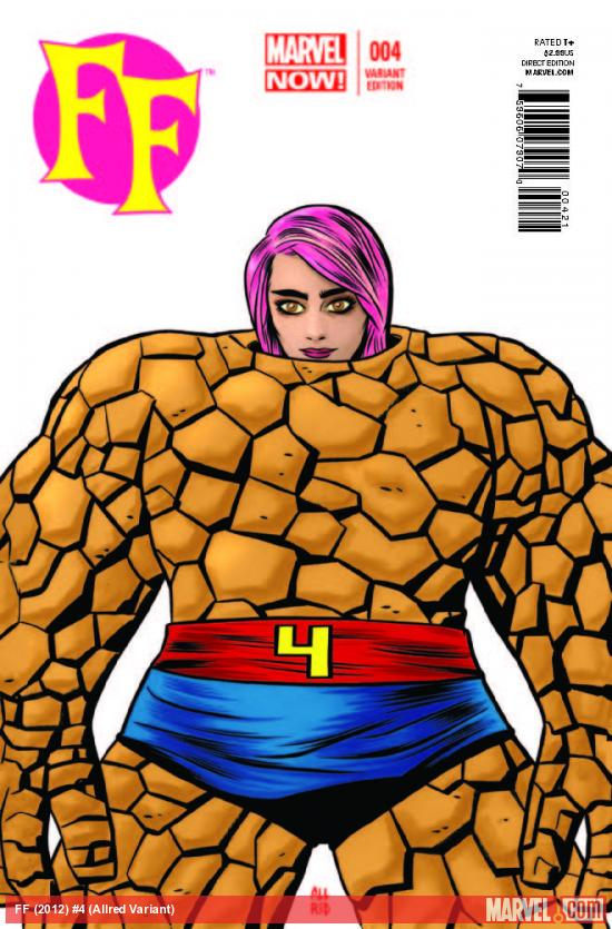 FF 4 ALLRED VARIANT (NOW, 1 FOR 20)