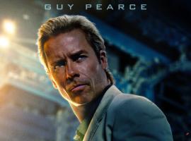 Guy Pearce stars as Aldrich Killian in Marvel's Iron Man 3