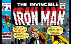 Iron Man (1968) #37 Cover