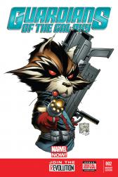 Guardians of the Galaxy #2  (Quesada Variant)