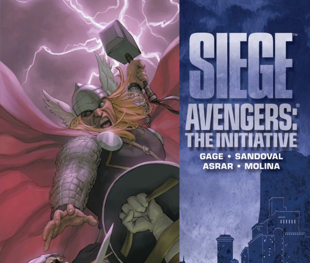 Siege: Avengers - The Initiative HC
