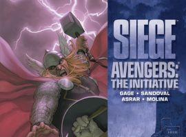 Siege: Avengers - The Initiative HC