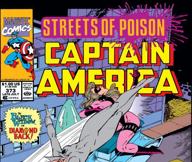 Captain America (1968) #373 Cover