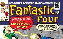 Fantastic Four (1961) #20 Cover