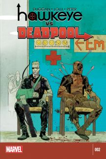 Hawkeye vs Deadpool #2