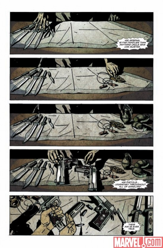 Punisher Noir #1, page 2