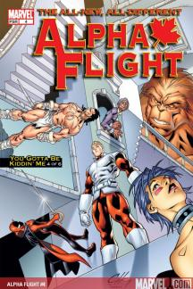 Alpha Flight (2004) #4
