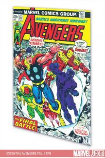 Essential Avengers Vol. 6 (Trade Paperback)