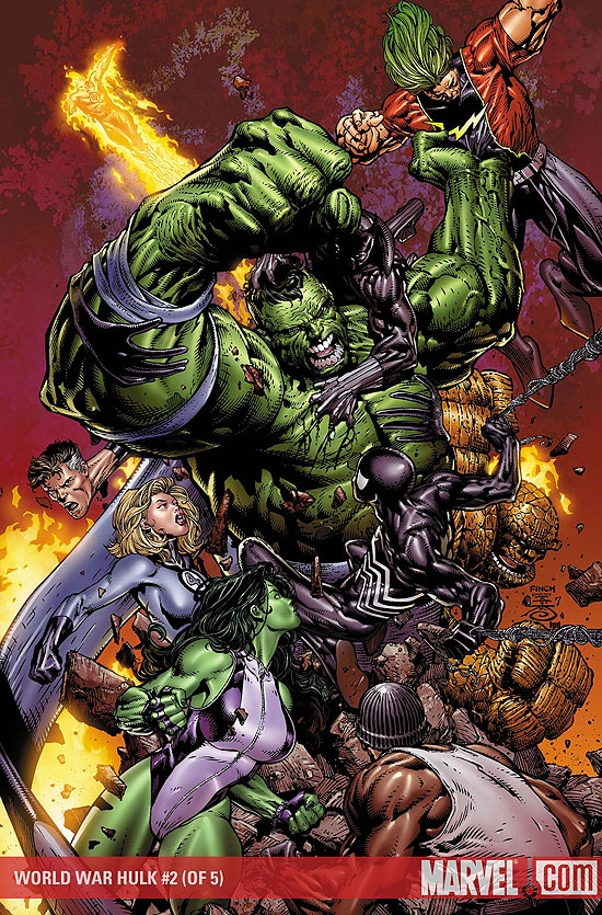 WORLD WAR HULK #2