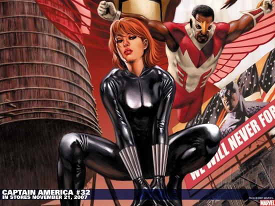 Captain America (1998) #32 Wallpaper