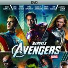 Marvel's The Avengers 1-Disc DVD box art